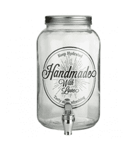 Large Glass Drinks Dispenser | Home Accessories